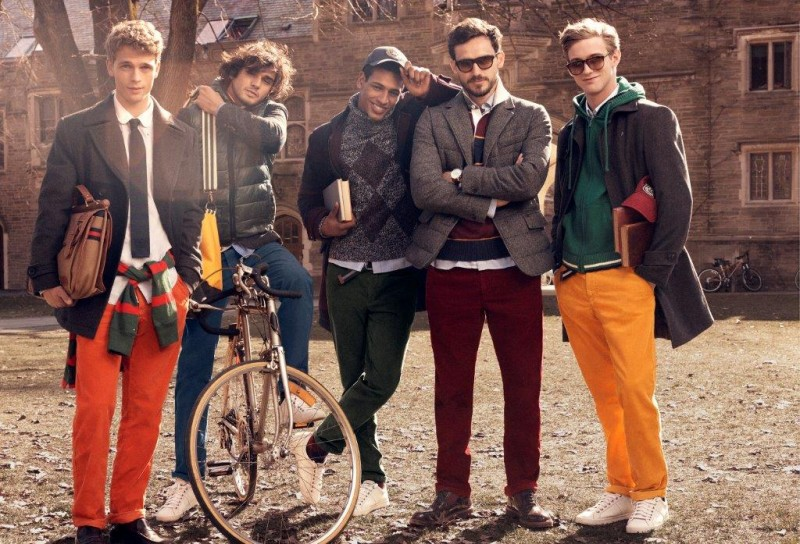 tommy hilfiger fall ads2 800x544 Tommy Hilfiger Fall 2013 Campaign Enlists a Preppy Cast by Craig McDean