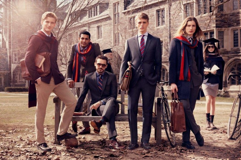 tommy hilfiger fall ads4 800x533 Tommy Hilfiger Fall 2013 Campaign Enlists a Preppy Cast by Craig McDean