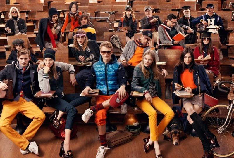 Tommy Hilfiger Fall 2013 Campaign Enlists a Preppy Cast by Craig McDean