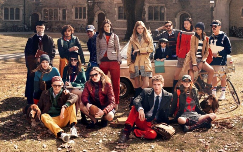 tommy hilfiger fall ads6 800x500 Tommy Hilfiger Fall 2013 Campaign Enlists a Preppy Cast by Craig McDean