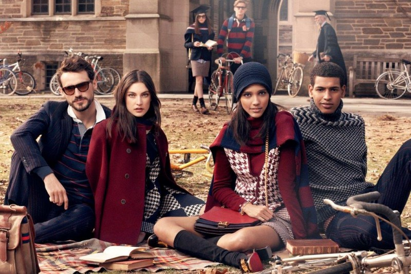 tommy hilfiger fall ads7 800x533 Tommy Hilfiger Fall 2013 Campaign Enlists a Preppy Cast by Craig McDean