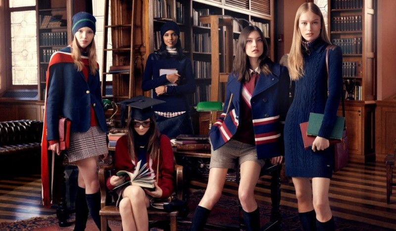 tommy hilfiger fall ads8 800x467 Tommy Hilfiger Fall 2013 Campaign Enlists a Preppy Cast by Craig McDean
