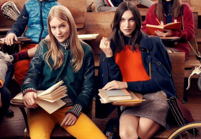 tommy hilfiger fall ads9 800x554 Tommy Hilfiger Fall 2013 Campaign Enlists a Preppy Cast by Craig McDean