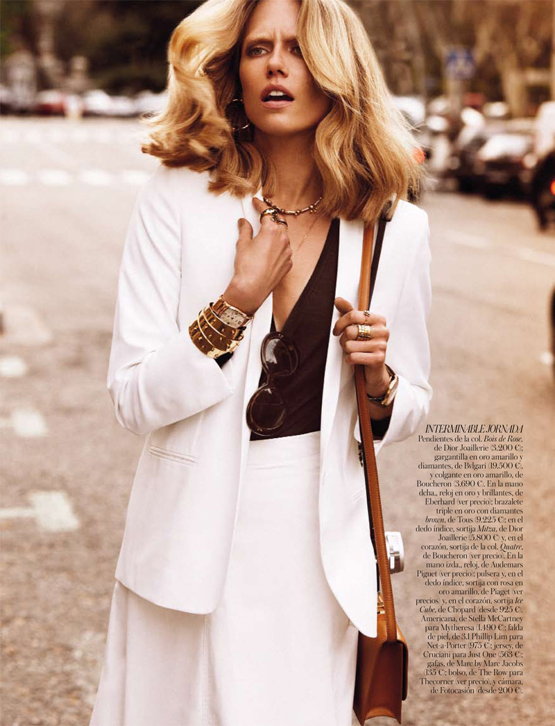 tosca dekker7 Tosca Dekker Models Street Style for Vogue Spain by Alvaro Beamud Cortes