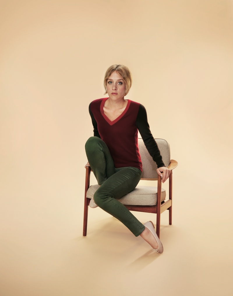 uniqlo silk cashmere1 Chloe Sevigny and Lily Donaldson Front Uniqlos Silk & Cashmere Campaign