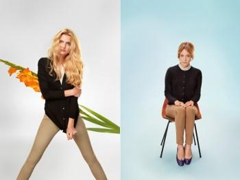 Chloe Sevigny and Lily Donaldson Front Uniqlo's Silk & Cashmere Campaign