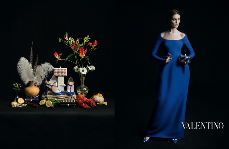 valentino fall ads 2 800x522 Valentino Finds Classic Inspiration for Fall 2013 Ads by Inez & Vinoodh