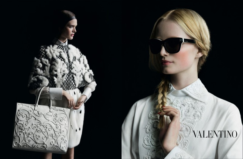 Valentino Finds Classic Inspiration for Fall 2013 Ads by Inez & Vinoodh