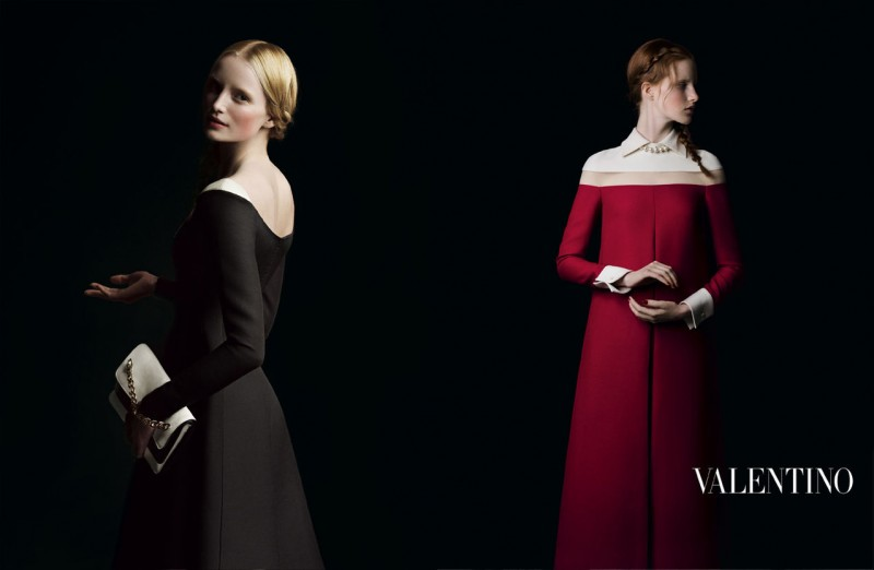 valentino fall ads 7 800x522 Valentino Finds Classic Inspiration for Fall 2013 Ads by Inez & Vinoodh