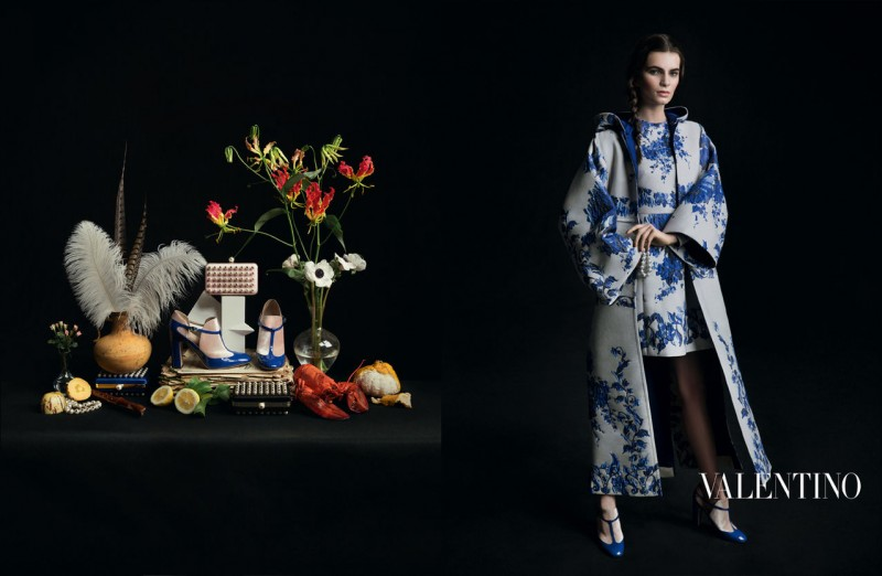 valentino fall ads 8 800x522 Valentino Finds Classic Inspiration for Fall 2013 Ads by Inez & Vinoodh
