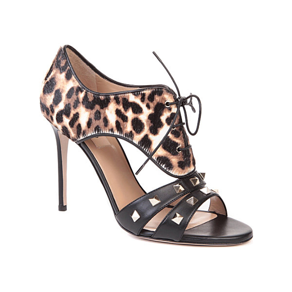 valentino sandals 7 Animal Print Looks to Go Wild Over