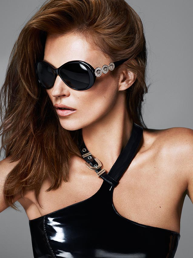 versace eyewear2 More Versace Fall 2013 Ads Starring Kate Moss and Saskia de Brauw