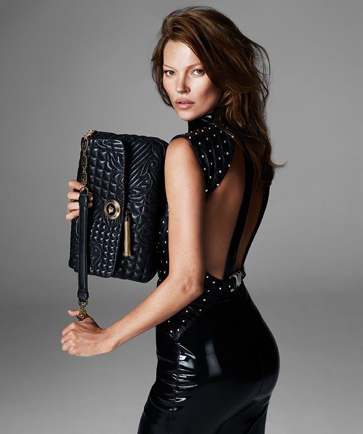 More Versace Fall 2013 Ads Starring Kate Moss and Saskia de Brauw