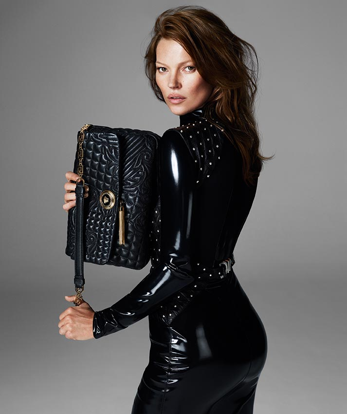 versace fall mert marcus17 More Versace Fall 2013 Ads Starring Kate Moss and Saskia de Brauw