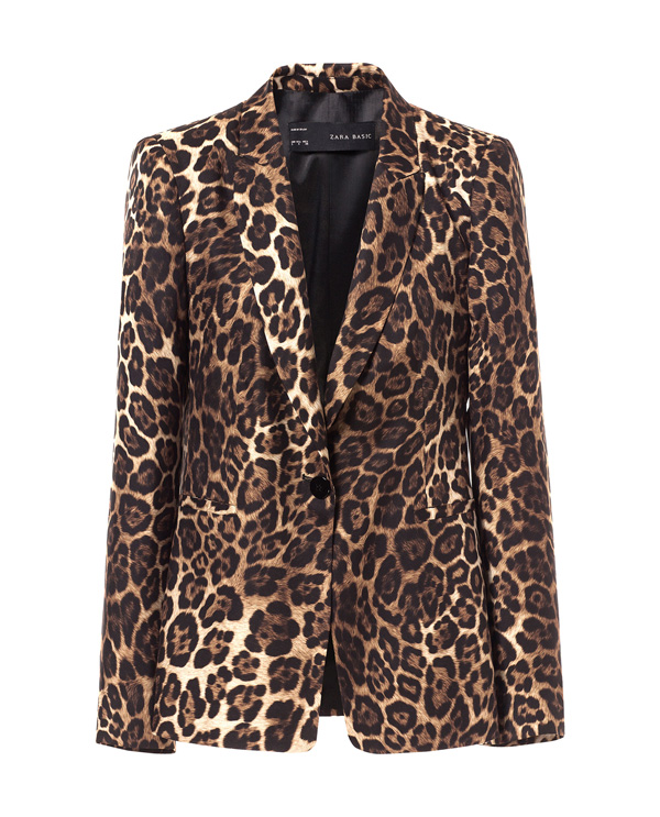 zara blazer 7 Animal Print Looks to Go Wild Over