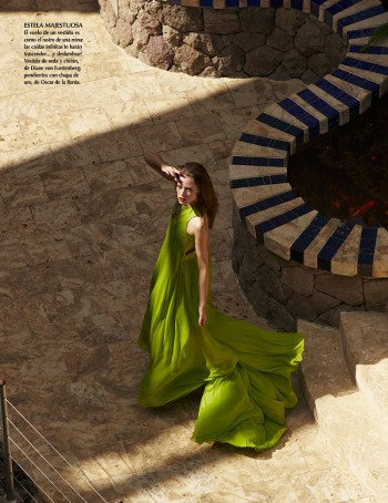 Valeria Garcia Poses for Asa Tallgard in Vogue Mexico August 2013