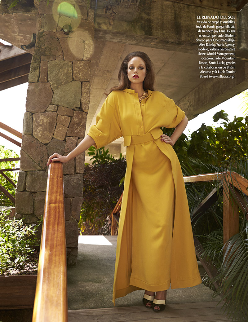 05 vogue mexico june13 valeria garcia asa tallgard 800 Valeria Garcia Poses for Asa Tallgard in Vogue Mexico August 2013