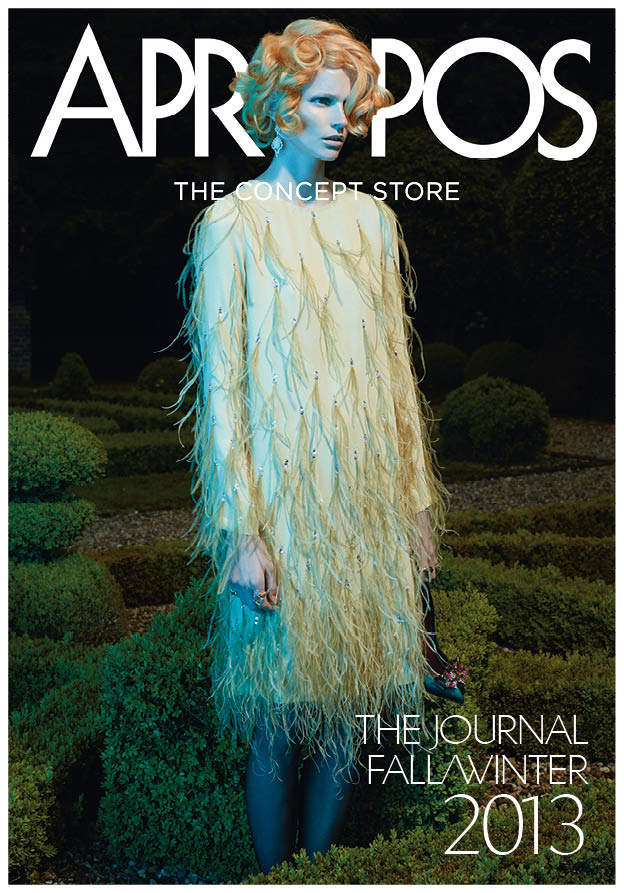 130620 APROPOS Journal Katrin Thormann Models Garden Style for Apropos Journal F/W 2013