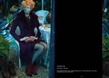 Katrin Thormann Models Garden Style for Apropos Journal F/W 2013