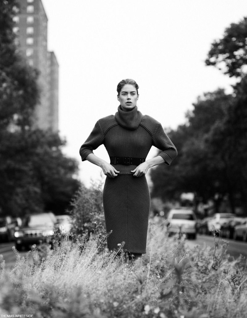 DOUTZEN KROES THOMAS WHITESIDE 20 Doutzen Kroes Poses for Thomas Whiteside in Elle France Collections Story