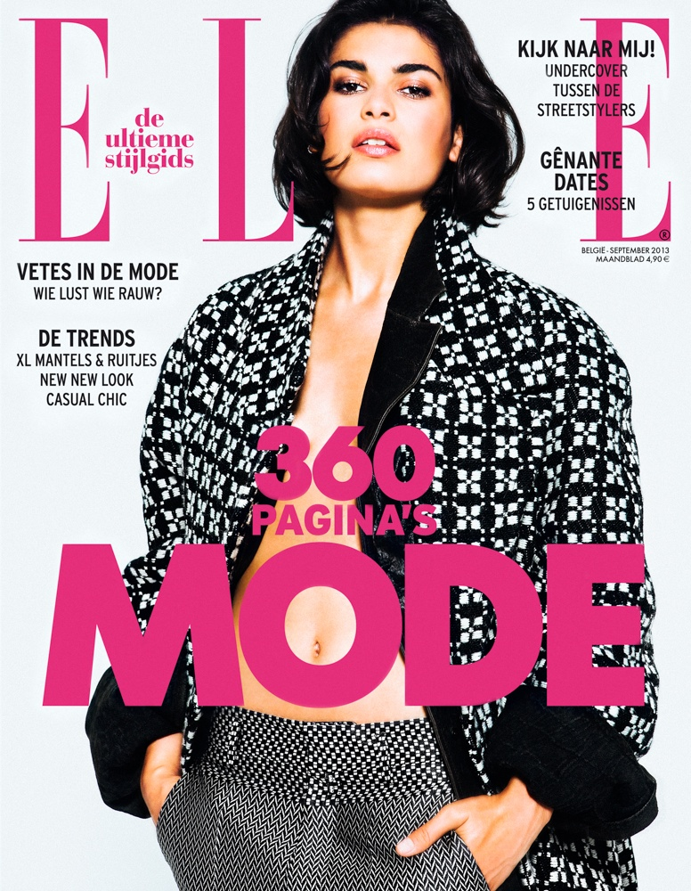 HichamRiad 01 Hicham Riad Shoots Yana & Chavelli for Elle Belgium's September 2013 Issue