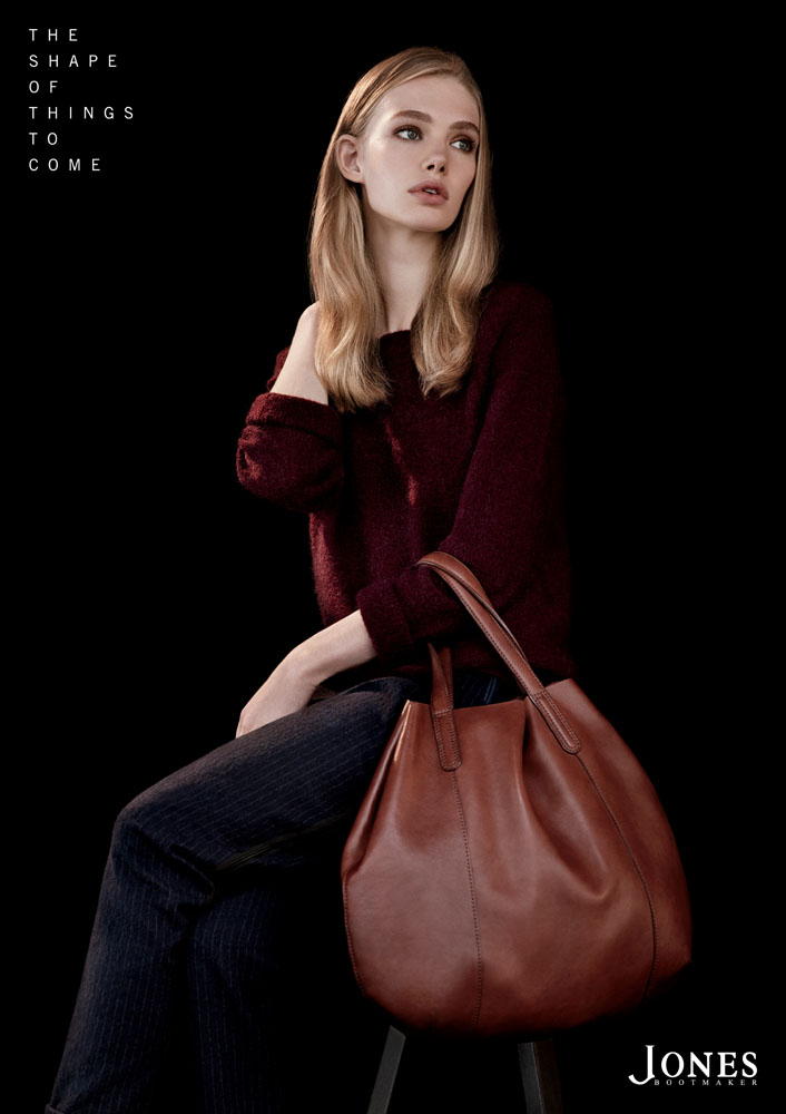 Jones1 Marnie Harris Fronts Jones Bootmaker F/W 2013 Campaign