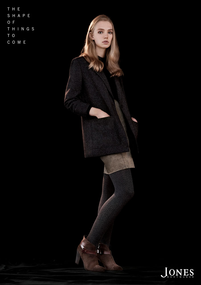 Jones4 Marnie Harris Fronts Jones Bootmaker F/W 2013 Campaign