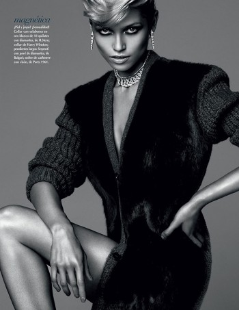 Hana Jirickova Shines in Vogue Mexico's September Issue