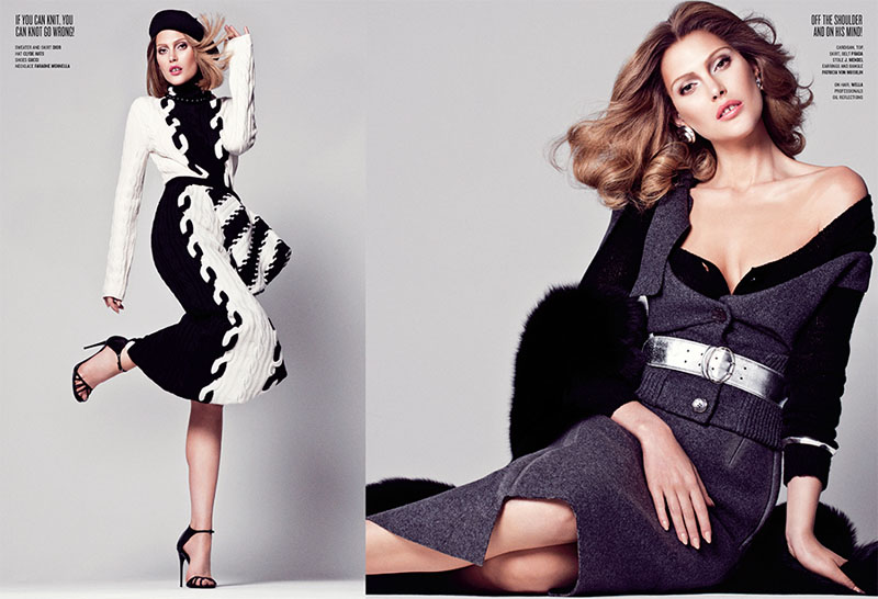 Sharif Hamza V Mag 2 Catherine McNeil Channels Lauren Hutton for V Magazine by Sharif Hamza