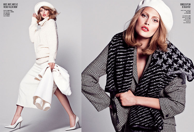 Sharif Hamza V Mag 3 Catherine McNeil Channels Lauren Hutton for V Magazine by Sharif Hamza