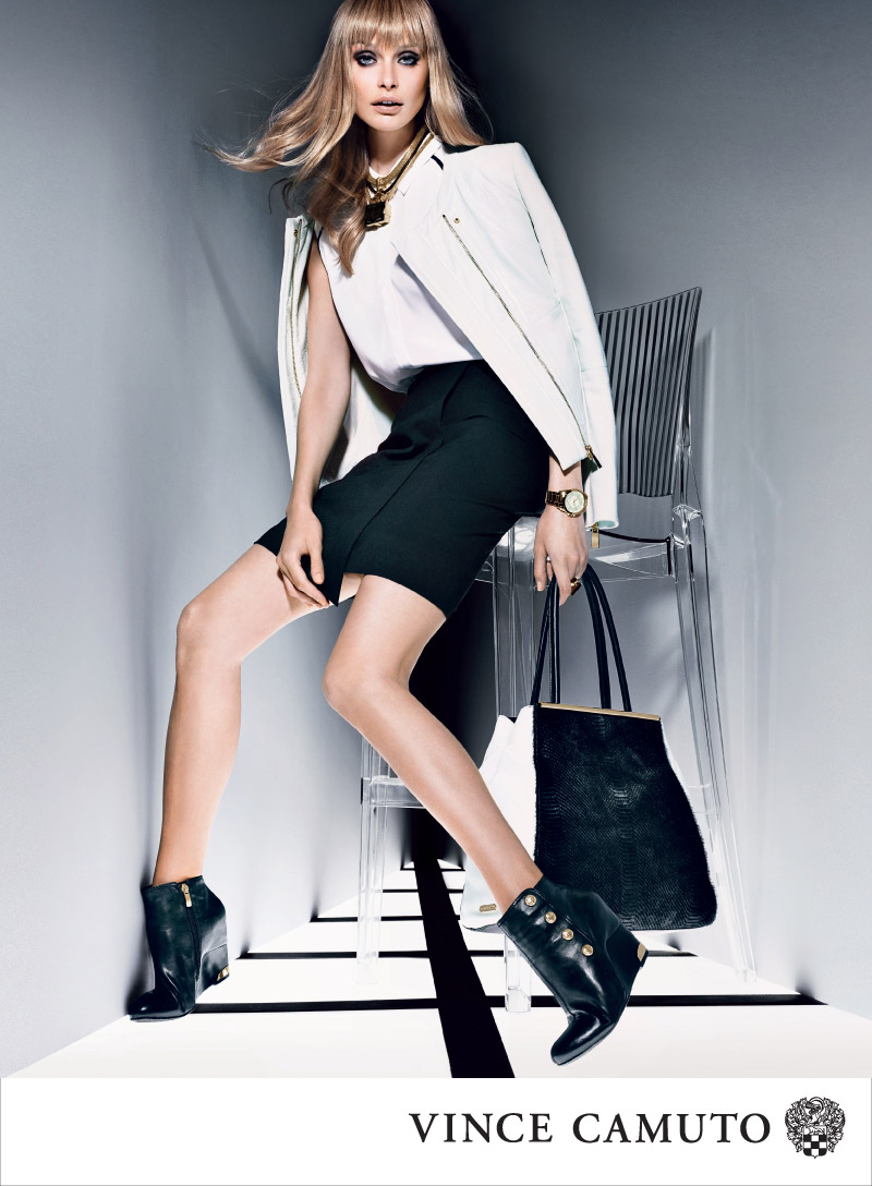 VC F13 800px HUXLEY Vince Camuto Gets Dark for Fall 2013 Campaign Starring Inguna Butane