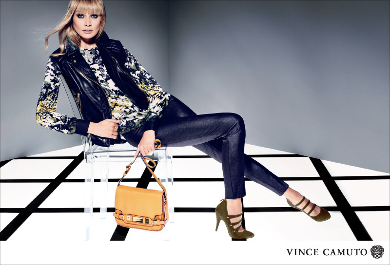 VC F13 800px JAMILY Vince Camuto Gets Dark for Fall 2013 Campaign Starring Inguna Butane