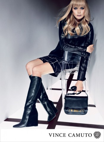 Vince Camuto Gets Dark for Fall 2013 Campaign Starring Inguna Butane