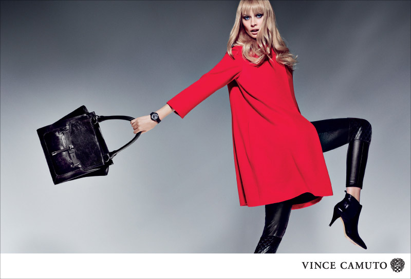 VC F13 800px ONYA Vince Camuto Gets Dark for Fall 2013 Campaign Starring Inguna Butane