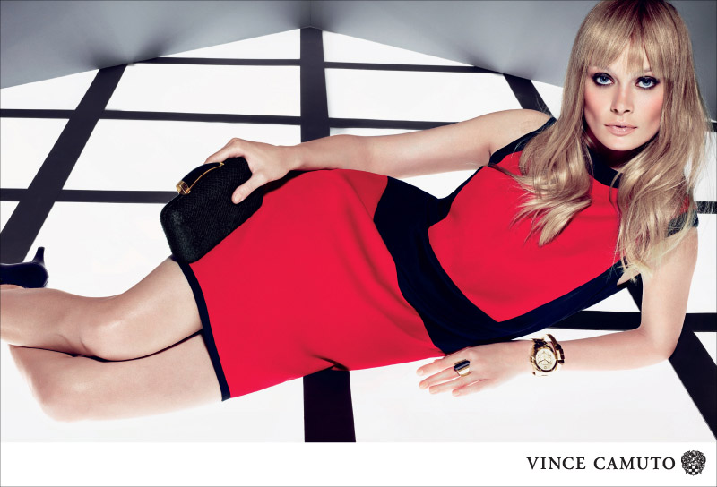 VC F13 800px RED POP Vince Camuto Gets Dark for Fall 2013 Campaign Starring Inguna Butane