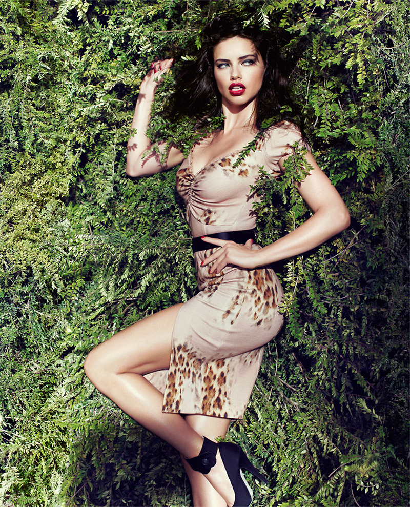 adriana lima blumarine fall 2011 ad Happy Birthday, Adriana Lima! The Hottest Photos of the Model for TBT