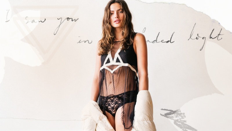 alyssa miller model1 Alyssa Miller Stars in Intimately Free Peoples Latest Lookbook
