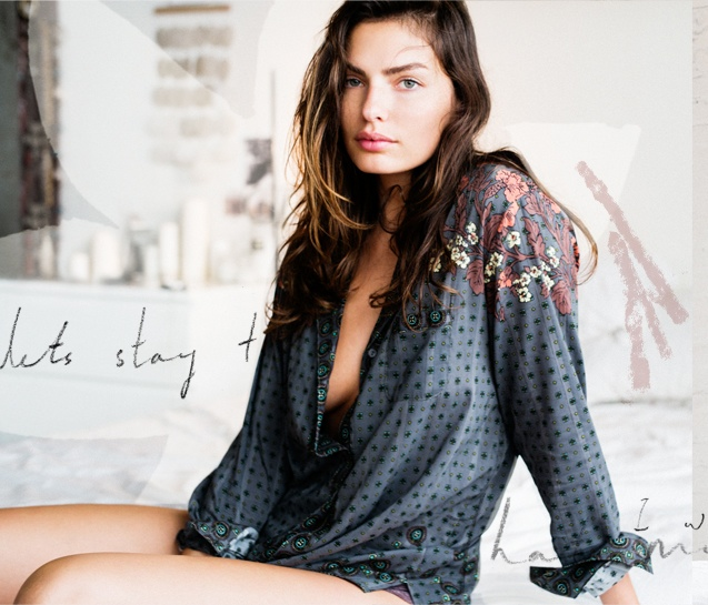 alyssa miller model4 Alyssa Miller Stars in Intimately Free Peoples Latest Lookbook