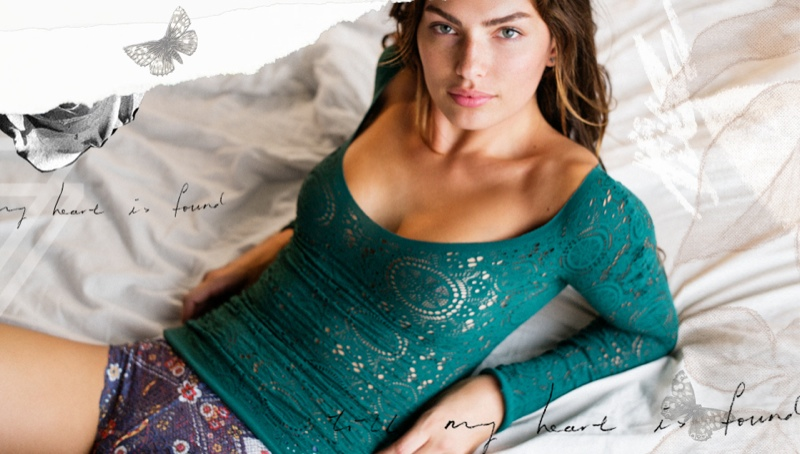 alyssa miller model7 Alyssa Miller Stars in Intimately Free Peoples Latest Lookbook