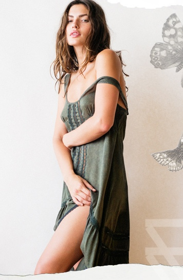 alyssa miller model9 Alyssa Miller Stars in Intimately Free Peoples Latest Lookbook