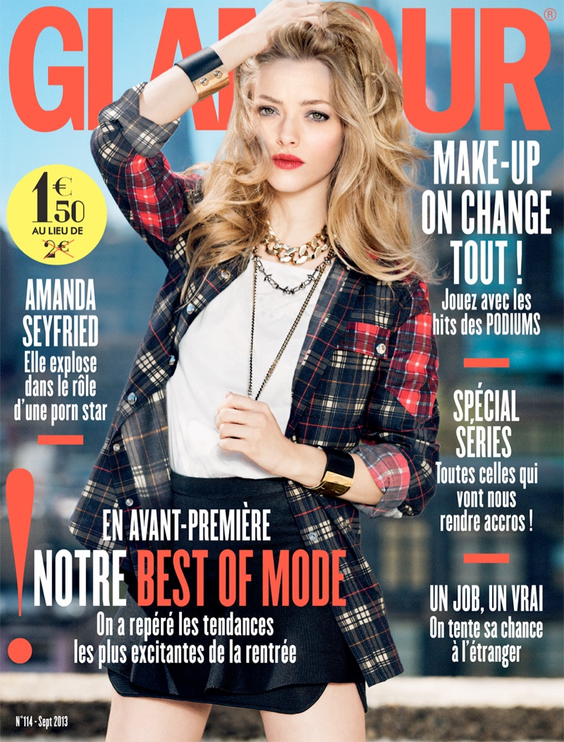 amanda ben watts5 Amanda Seyfried Poses for Ben Watts in Glamour Paris Shoot