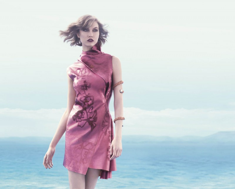 animale karlie10 800x644 Karlie Kloss Enchants in Animales Summer 2014 Campaign
