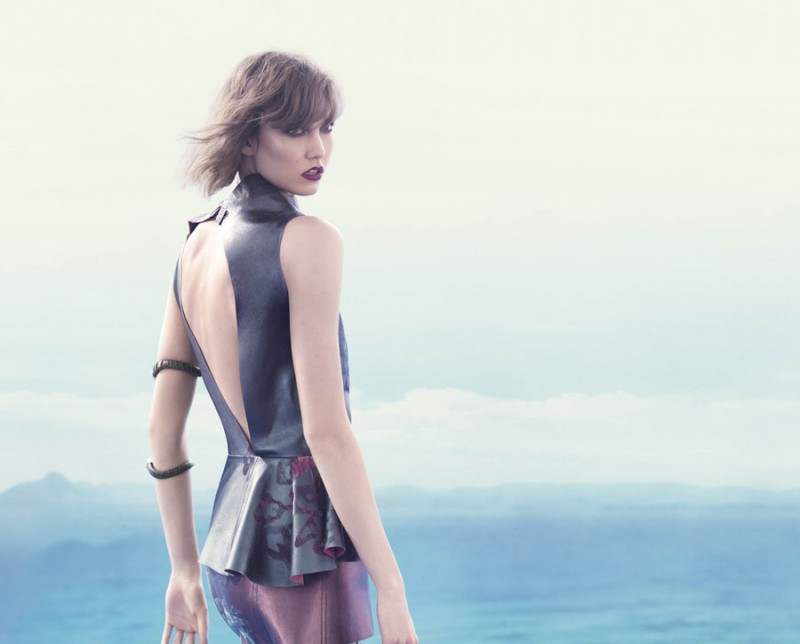 animale karlie12 800x644 Karlie Kloss Enchants in Animales Summer 2014 Campaign