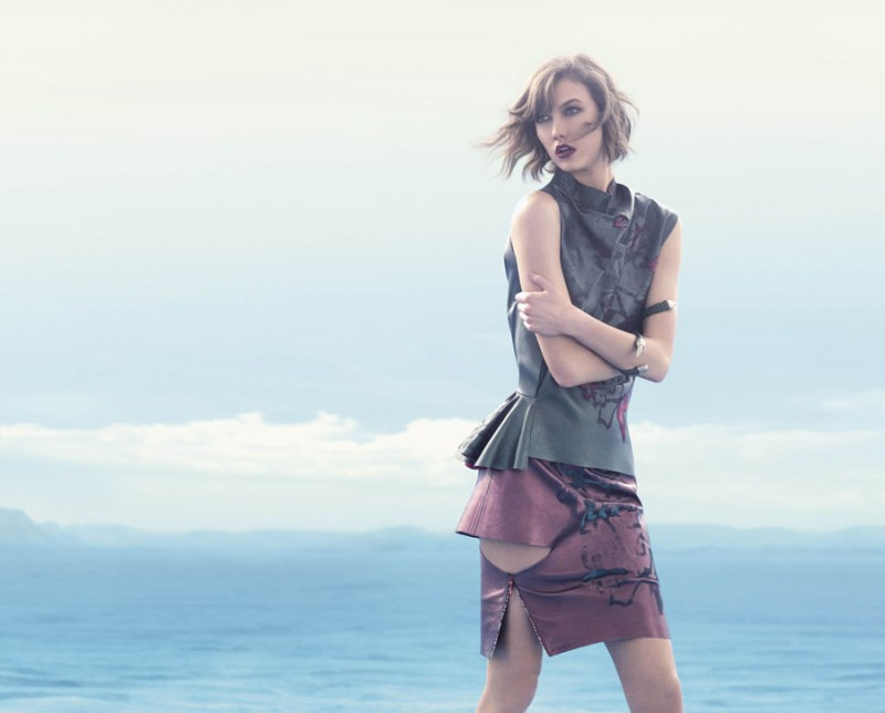 animale karlie13 800x644 Karlie Kloss Enchants in Animales Summer 2014 Campaign