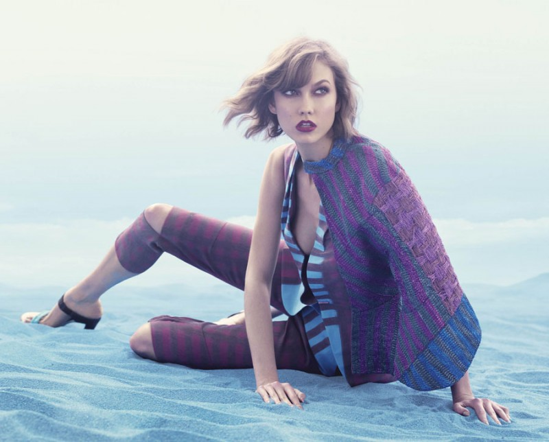 animale karlie14 800x644 Karlie Kloss Enchants in Animales Summer 2014 Campaign