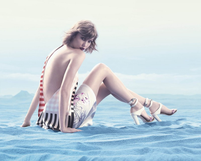 animale karlie4 800x644 Karlie Kloss Enchants in Animales Summer 2014 Campaign