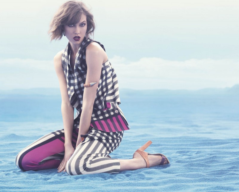 animale karlie8 800x644 Karlie Kloss Enchants in Animales Summer 2014 Campaign