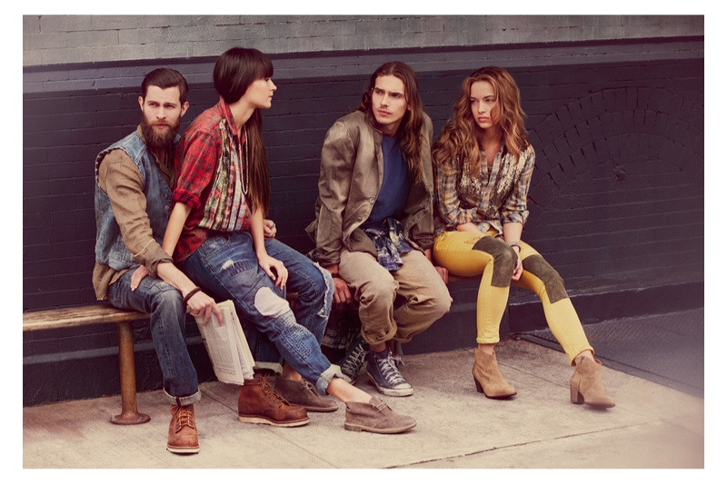 artisan de luxe fw6 Artisan de Luxe Gets Bohemian Chic for Fall 2013 Ads by Guy Aroch