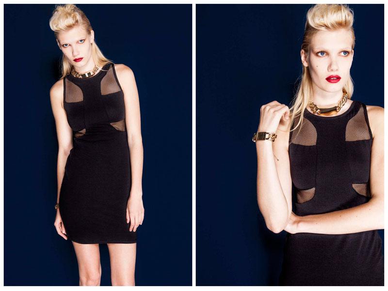 Yulia Terentieva Models Bershka's August/September Lookbook by Mar Ordonez