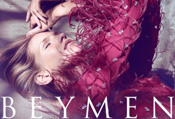 Katrin Thormann Fronts Beymen Fall 2013 Ads by Koray Birand